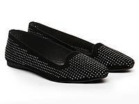 Балетки Etor 4749-1383-1  чорний, фото 1
