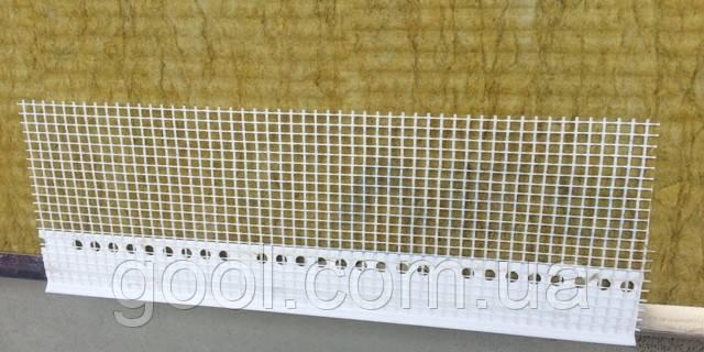 Профиль капельник на цокольный профиль длина 2.5 м.п