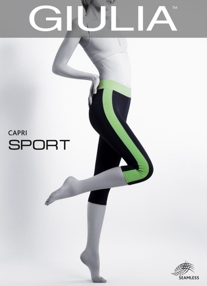 Спортивные капри из микрофибры CAPRI SPORT - Giulia-opt - колготки и чулки оптом в Хмельницком