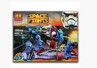 Конструктор Bela 10367 аналог LEGO Star Wars Элитное подразделение Коммандос Сената 106 дет