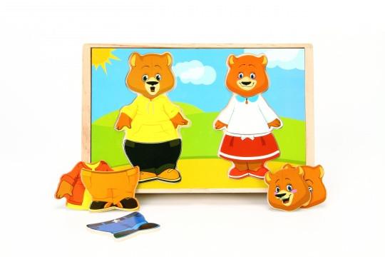 Вкладыши МДИ «Два медвежонка» (Д182)