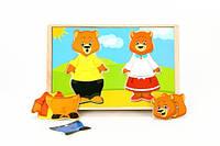 Вкладыши МДИ «Два медвежонка» (Д182), фото 1