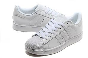 Женские кроссовки Adidas Superstar All White