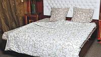 Комплект постельного белья Вензель беж двуспальный