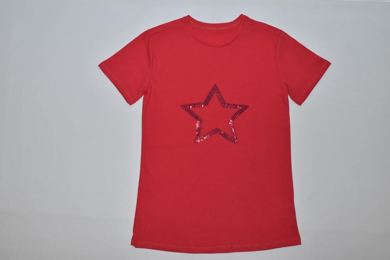 Футболка для девочки звезда