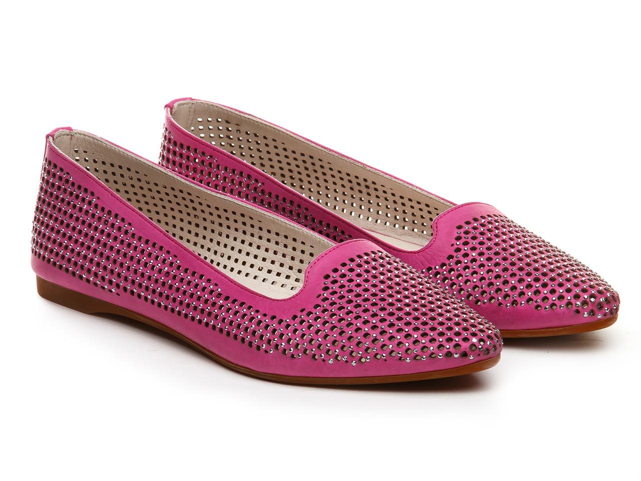 Балетки Etor 4749-1383-2 розовые, фото 1