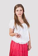 Блуза женская с ажурными вставками