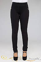 Классические трикотажные лосины брюки из плотного брючного трикотажа большого размера 48-52