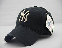 Кепка NY New York Yankee бейсболка мужская / женская. Цвет ЧЕРНЫЙ