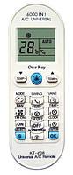 Универсальный пульт для кондиционеров KT-e08, 6000 кодов