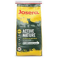 Josera Active Nature с ягненком для активных собак - 15 кг