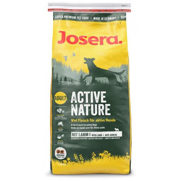 Сухой корм (Josera Active Nature) с ягненком для активных собак  15 кг