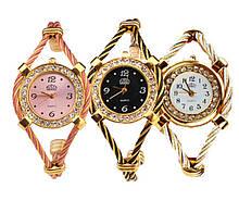 Наручные часы - браслет c кристаллами Dandy - 6 цветовых вариантов