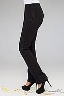 Модные брюки свободного покроя из турецкого трикотажа со стразами большого размера 50-60, фото 1