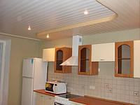 Потолки алюминиевые подвесные реечные пастельные тона  французский дизайн