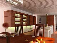 Алюминиевые подвесные реечные потолки