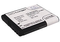 Аккумулятор для Nokia 6700 Classic 950 mAh