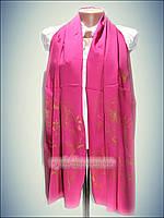 Шелковый шарф Eda exclusive, малиновый (100% rayon)