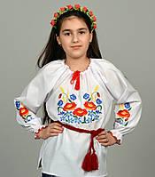 Детская вышиванка Колоски