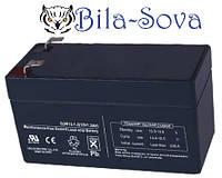 Аккумуляторная батарея АКБ 1,3 А/ч, 12 В, размер: 42х53х97 мм