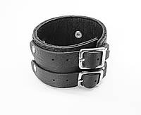 Кожаный браслет Johnny Depp чёрный