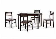 Комплект столовый STORM (стол+4 стула), Малайзия