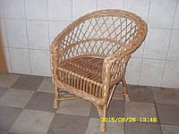 """Плетеное кресло из лозы """"Винницкое"""" (Плетене крісло із лози """"Вінницьке"""")"""