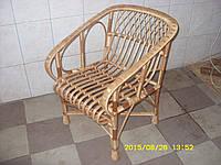 """Плетеное кресло из лозы """"Мрия"""" (Плетене крісло із лози """"Мрія"""")"""