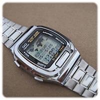 Часы  Q@Q -10Bar деловой стиль, записная книжка, карта, стальной браслет, MMW1P311Y