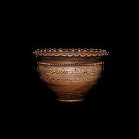 Горшок - волна глиняный (макитра) Шляхтянский AA01 Покутская керамика