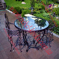 Столы и стулья для летних площадок 16