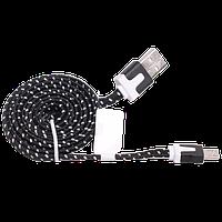Кабель USB - micro USB, тканевый, 2 метра