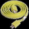 Силиконовый кабель USB - micro USB, 1 метр