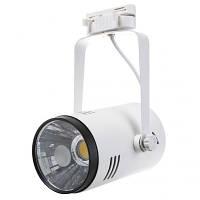 Трековые светильники для дома Brille LED-413/18W WH/BK COB (32-270) нейтральный свет