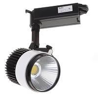 Трековые светильники для дома светодиодные Brille LED-405/20W COB WH/BK (32-285) нейтральный свет