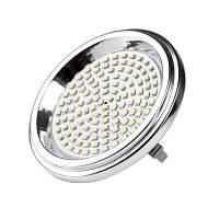 Led лампа Brille G53 9W AR111 AC12V SMD3528 (128119) теплый свет