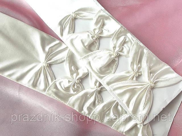 Перчатки свадебные 11