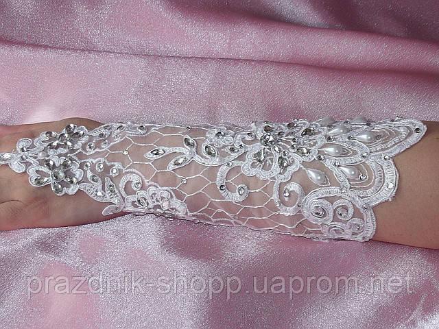 Свадебные перчатки 18
