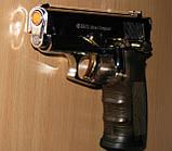Пистолет стартовый Ekol Aras Compact (хром с позолотой), фото 5