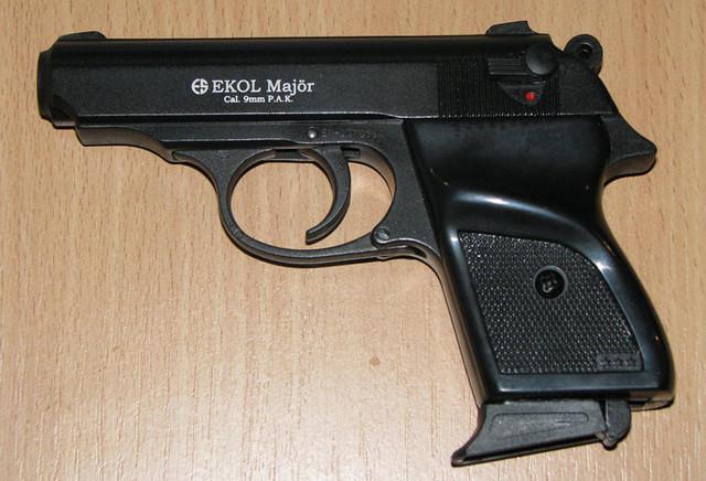Пистолет сигнальный Ekol Major чёрный