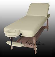 Двухсекционный массажный деревянный стационарный стол DON