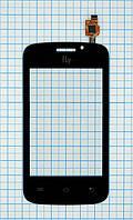 Тачскрин сенсорное стекло для Fly IQ239 Era Nano 2 black