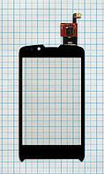 Тачскрин сенсорное стекло для Fly IQ260 Blackbird black