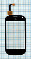 Тачскрин сенсорное стекло для Fly IQ270 Firebird black