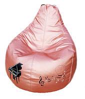 Бескаркасное кресло мешок пуф детский мягкий