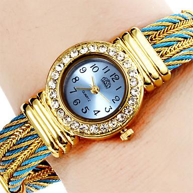 женские кварцевые часы - браслет Miss IV- 4 варианта