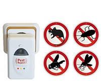 Ультразвуковой электронный отпугиватель грызунов и насекомых Pest Reject (Пест Риджект)