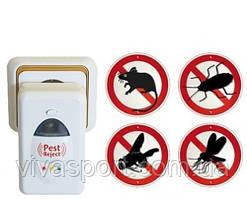 Ультразвуковий електронний відлякувач гризунів та комах Pest Reject (Пест Ріджект)