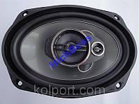 Автомобильная акустика Pioneer TS-A6974S 600W, 15х24 см Динамики 3-х полосные