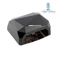 Гибридная уф лампа  CCFL+LED 36вт черная